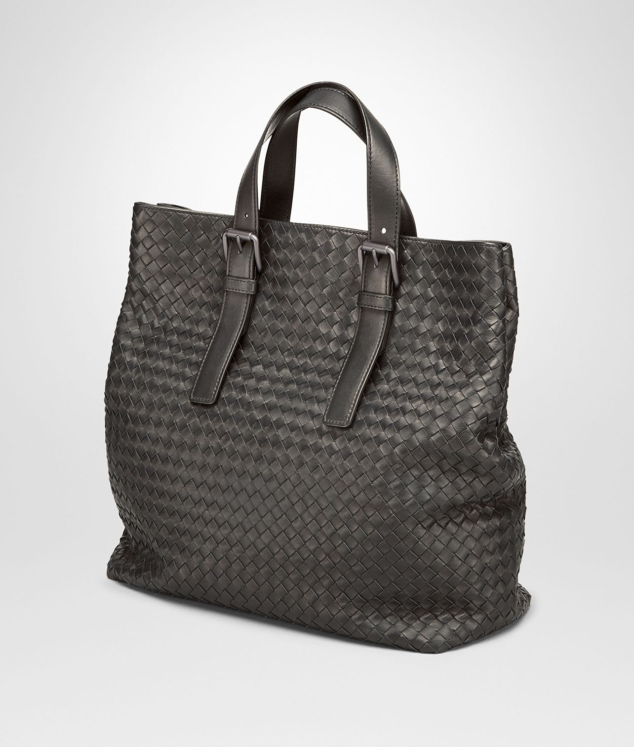 eaf819bc5b23 Bottega Veneta Men s TOTE BAG IN MORO INTRECCIATO CALF