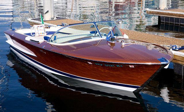 Italian Riva Riva Boat Runabout Boat Riva Boat