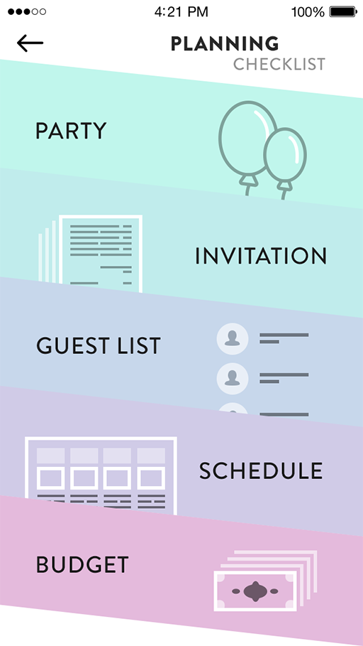Wedding Planning App.Wedding Planner App Mobile Designer Ux Ui Mobile Ui Design App