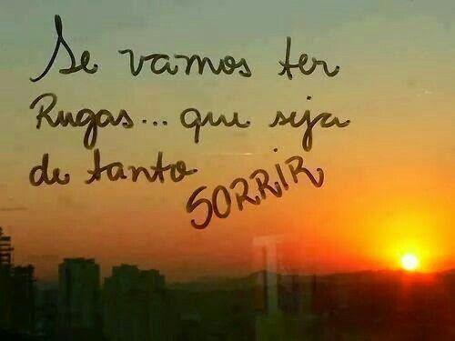 Sorrir...