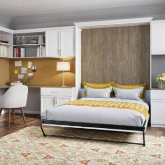 Wall Bed California Closets Murphy bed, Bed design