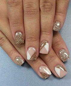 Gel Nail Art Gel Nail Art Designs Nail Designs Gold Nail Art
