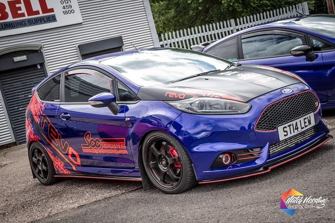 This Fiesta St Revo Stage 3 Modified 280bhp Is For Sale Fiesta St Ford Fiesta St Ford Fiesta
