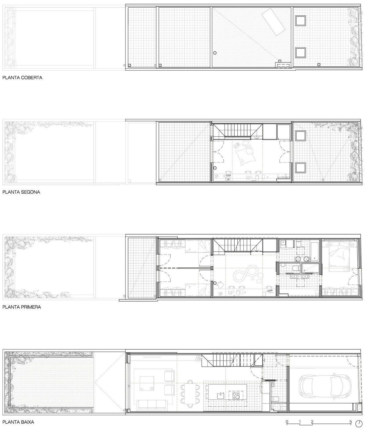 Vallribera Arquitectes Casa Entre Mitgeres Al Centre De Terrassa
