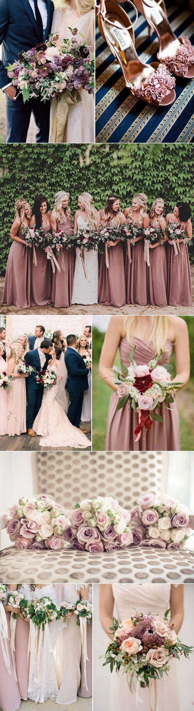Perfect Colors Mauve Wedding Ideas