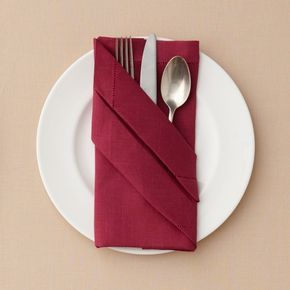 Buffet Napkin Fold Folding Napkins Pinterest Napkin Folding