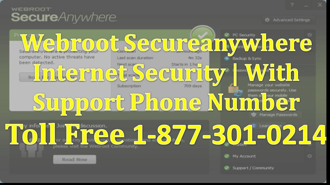 Top Five Webroot Secureanywhere Support Phone Number - Circus