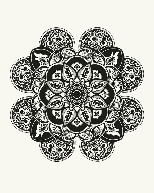 Image of Mandala Art Print // 16x20 | Musings | Pinterest ...