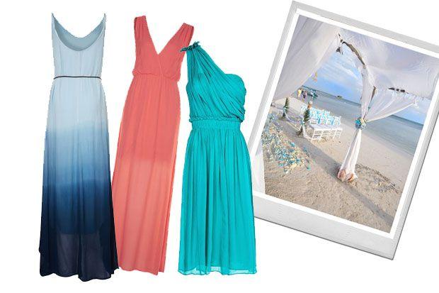 Vestidos De Invitada Para Una Boda En La Playa Vestidos