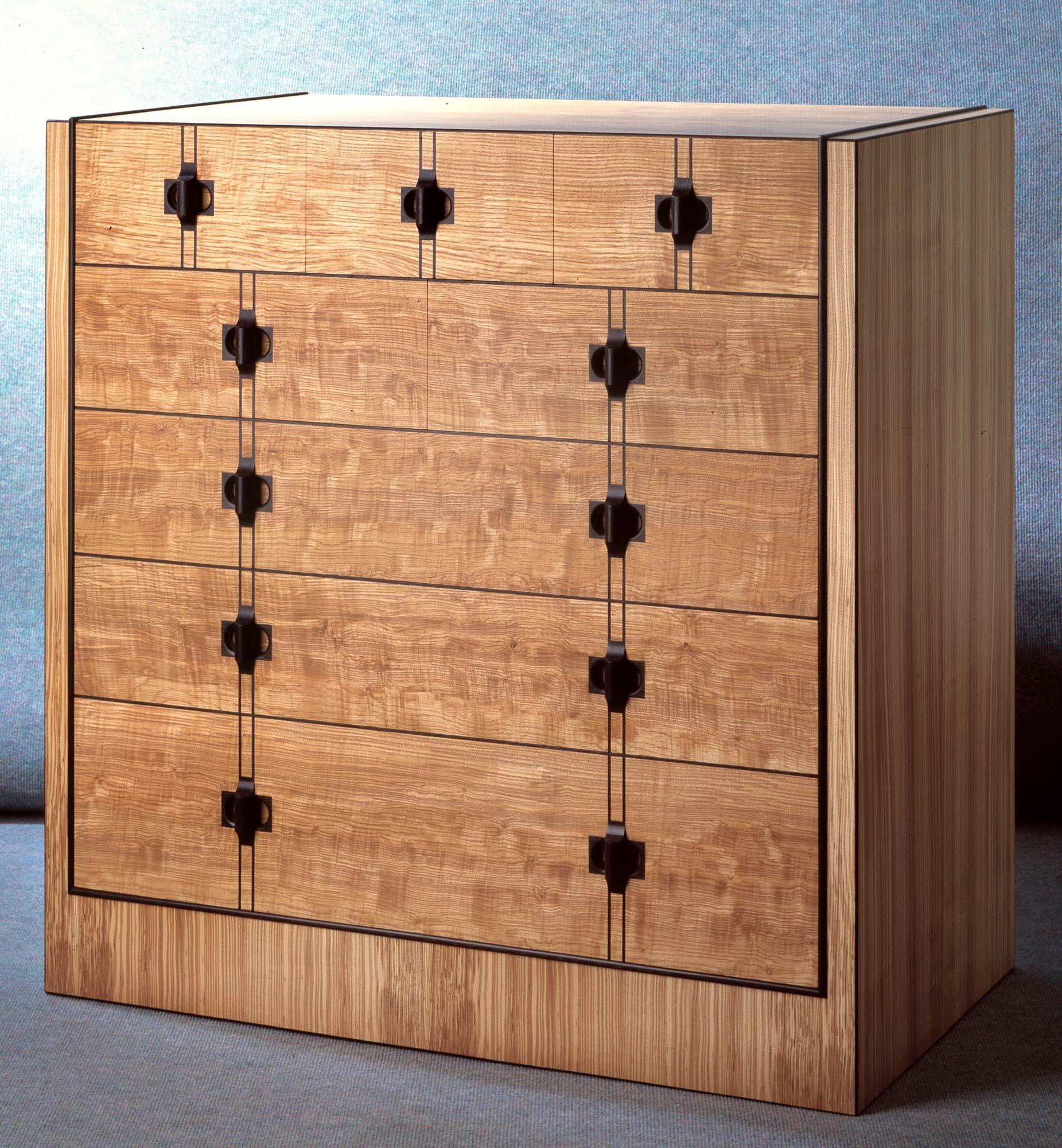 Bespoke Tamo Chest Of Drawers By Furniture Designer Robert Ingham