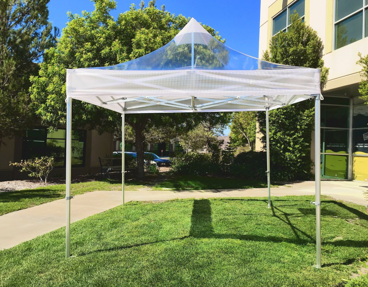 10x10 commercial clear popup tent central tent canopy
