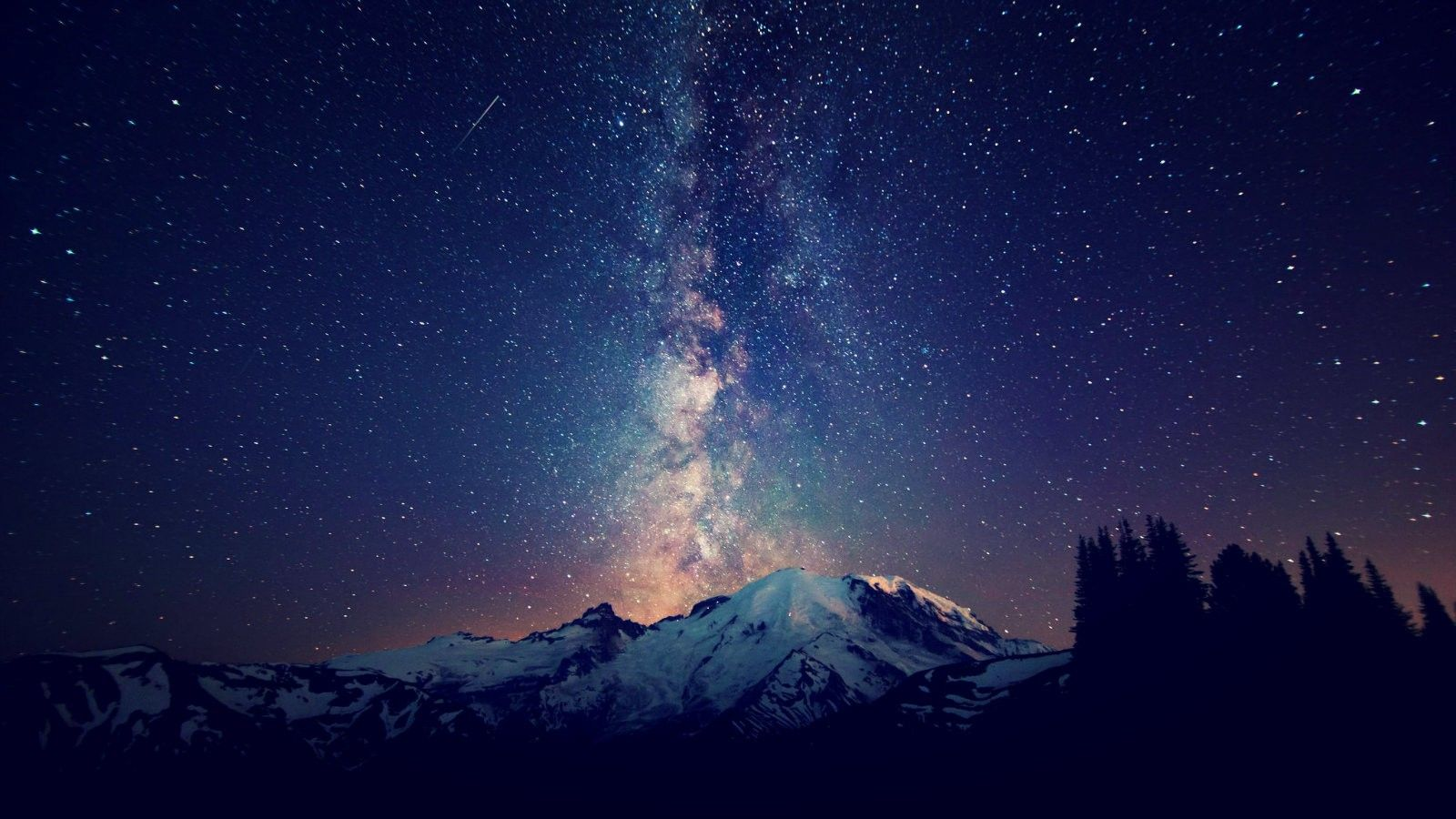 For All Of The Things That Leave You Stunned R Breathless Sky Mountain Night Sky Wallpaper Rainier Wallpaper starry sky milky way mountain