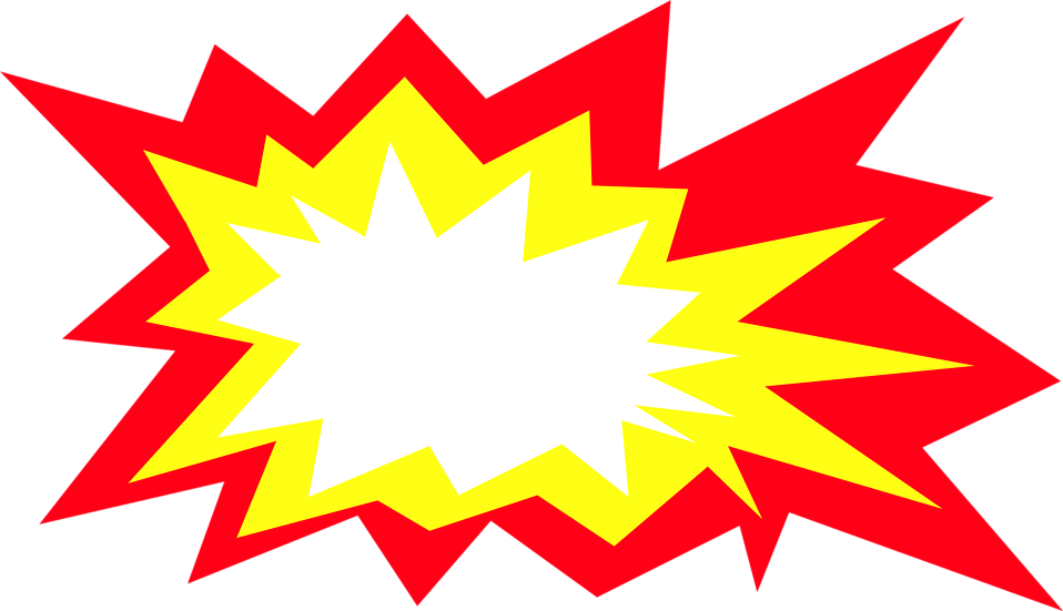 download image of blast explosion cartoon vector clipart png free |  freepngclipart | cartoons vector, clip art, superhero background  pinterest