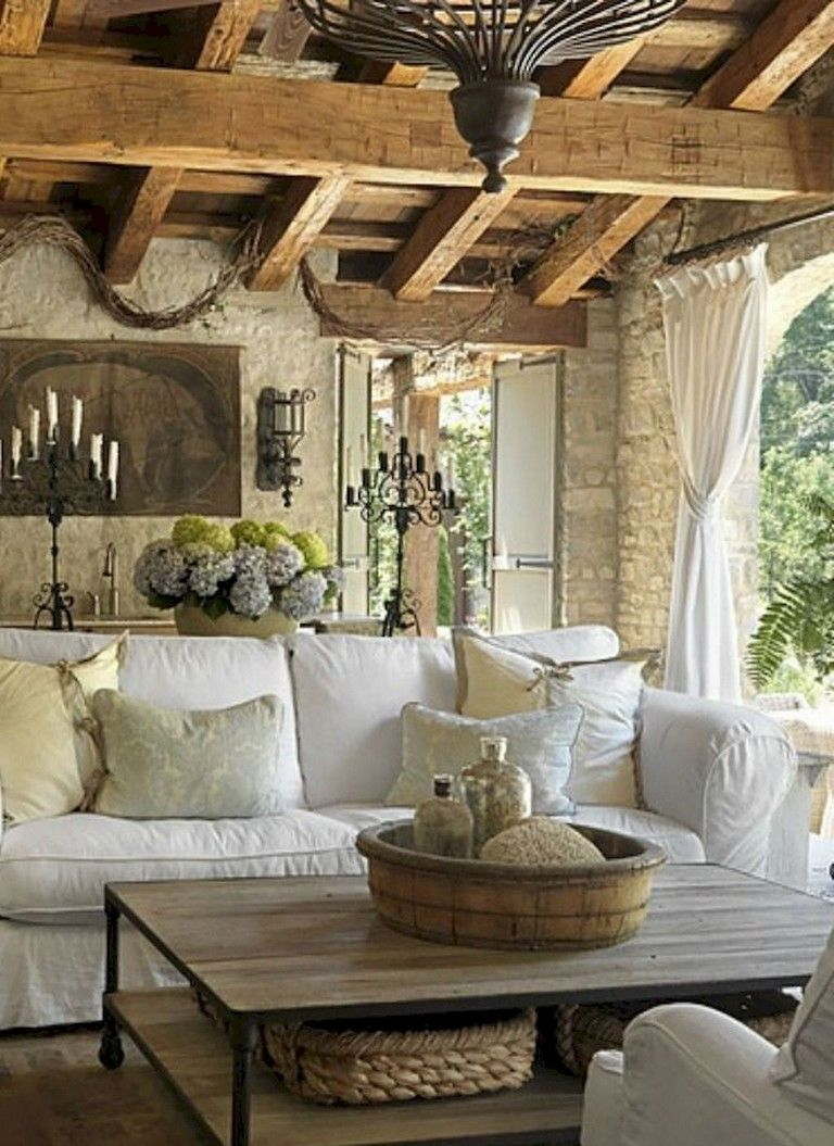 82 Cozy French Country Living Room Decor Ideas Page 17 O