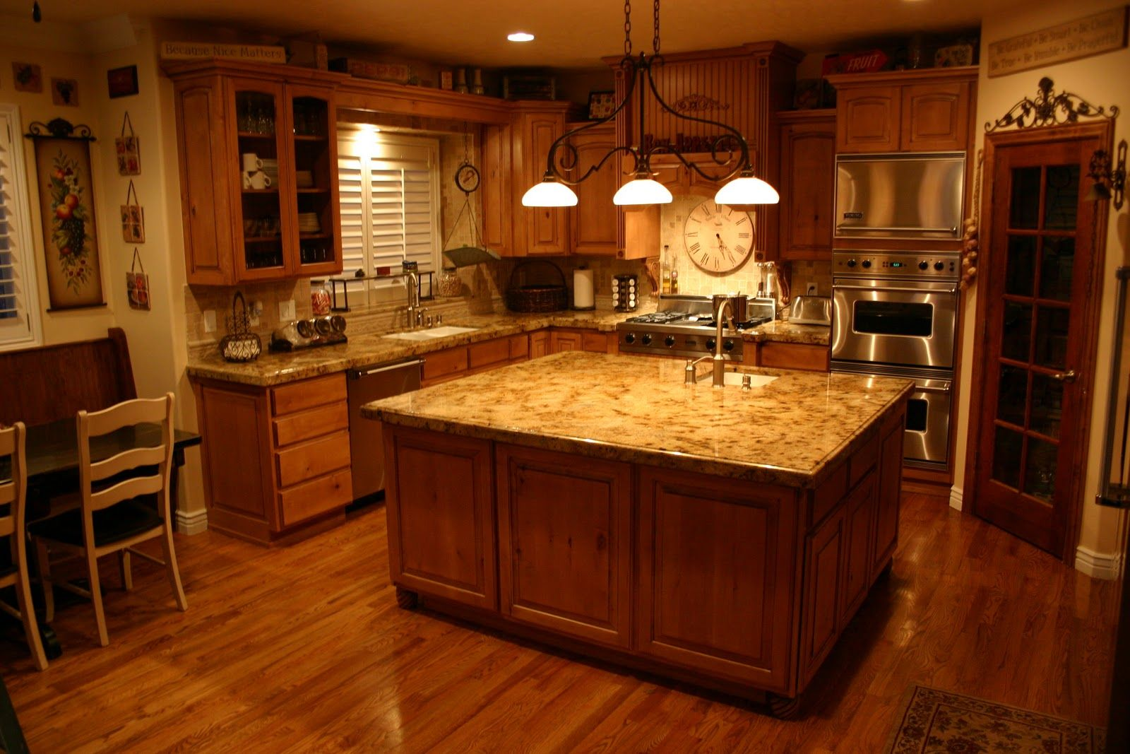 Photos Of Granite Kitchen Tops   The Countertops Are 2 Cm Lapidus Granite  With A 1