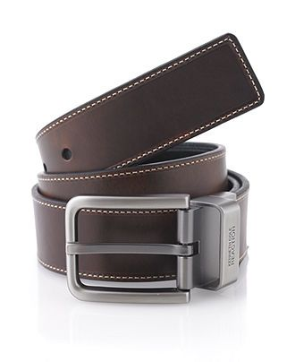 Kenneth Cole Reaction Belt, Reversible Casual Leather - Mens Men's Belts - Macy's