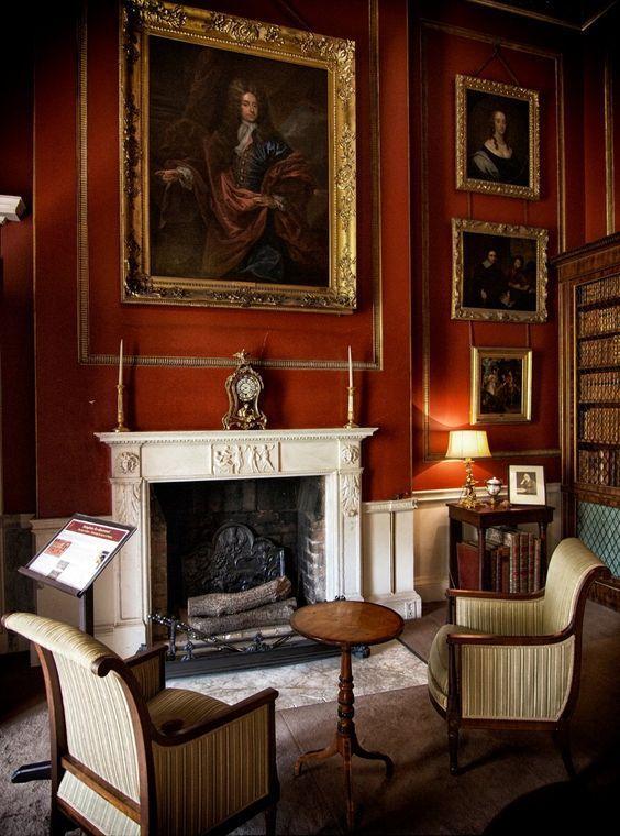 English Sitting Rooms: English Manor House Interior