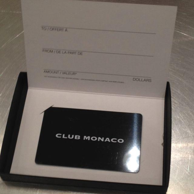 Club monaco gift card invitation ui pinterest club monaco gift card negle Gallery