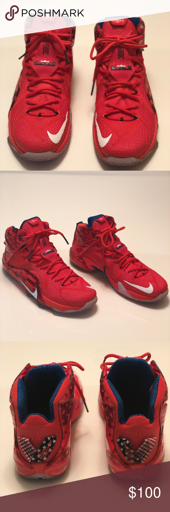 56dcc9ef4a355 Nike Lebron 12 Independence Day Limited Edition Celebrate the birth of our  nation with the Nike