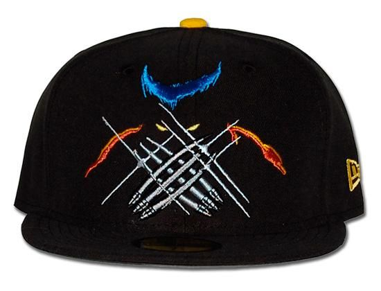 MARVEL x NEW ERA 「Wolverine Shadow」59Fifty Fitted Baseball Cap ... cbe5a1db5341