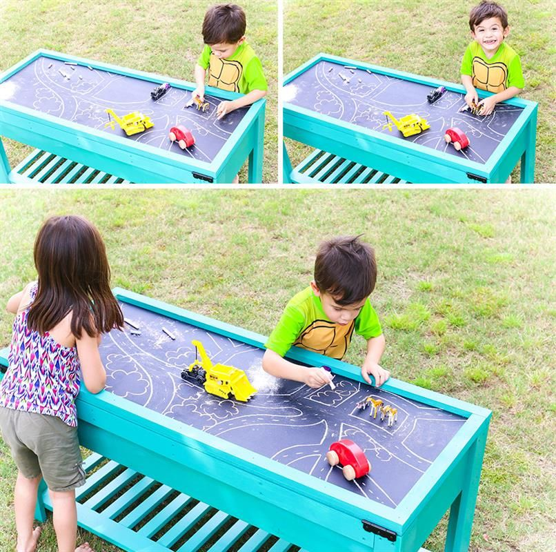 Visit Sand and water table, Sand and