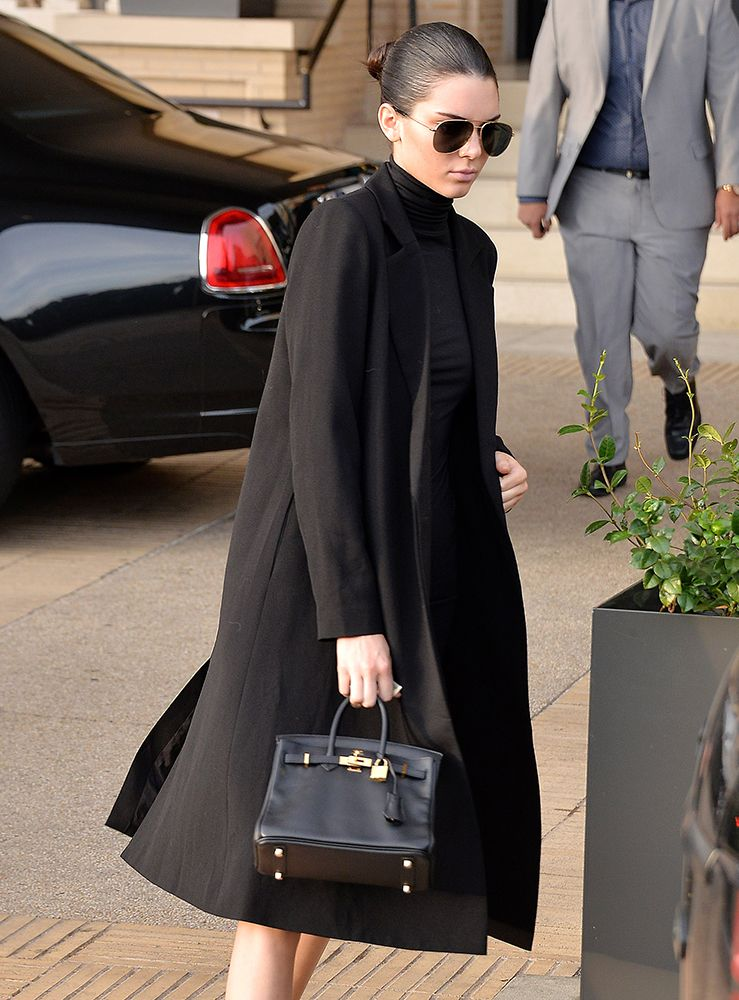 790cc76a226b Kendall Jenner s little Hermes Birkin is a breath of fresh air in a world  of big Birkins.