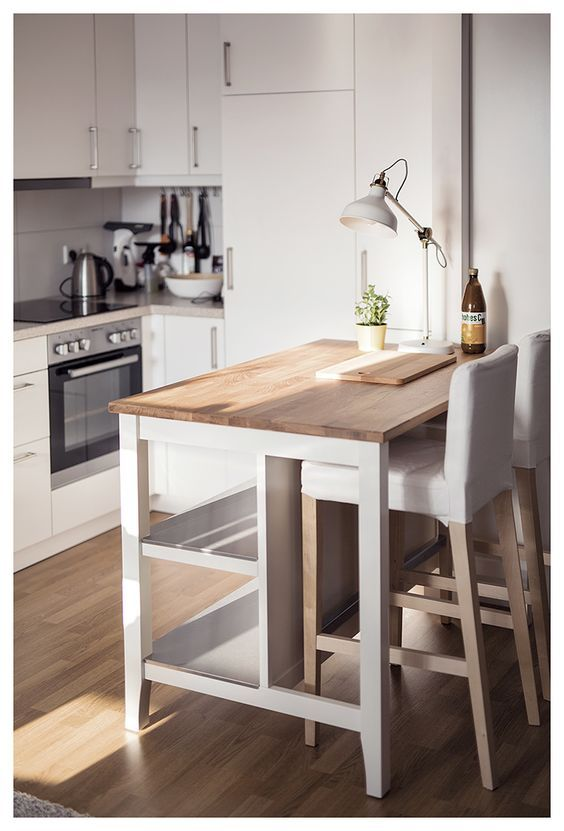 ikea kitchen island / breakfast bar | home decor ideas | ikea