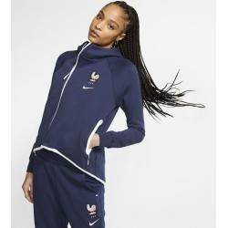 Photo of Fff Tech Fleece Damen-Fußballponcho – Blau Nike