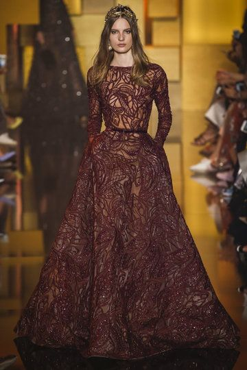 elie saab haute couture paris herbst wintermode 2015 16. Black Bedroom Furniture Sets. Home Design Ideas