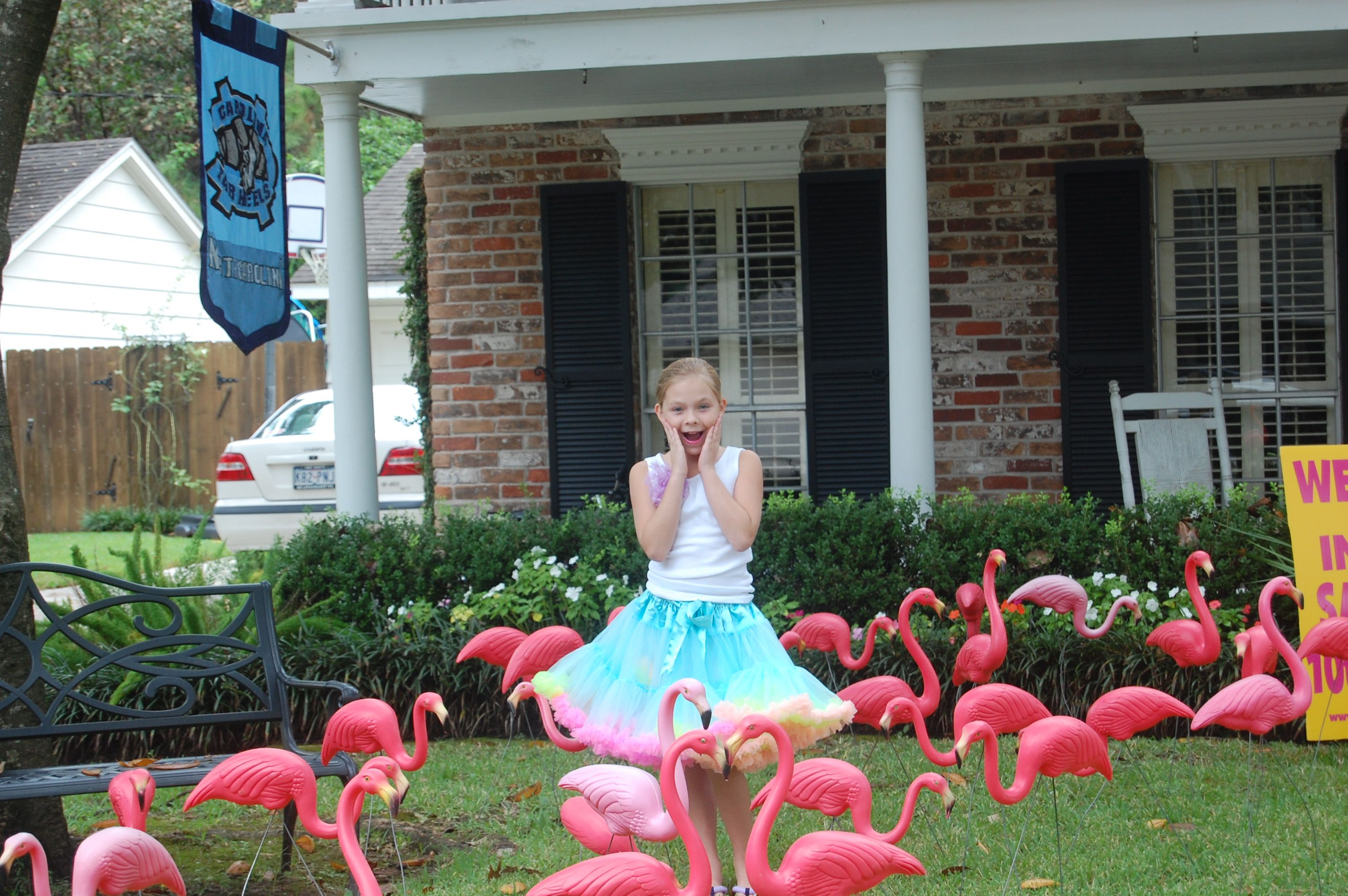 Uncategorized Yard Decorations For Birthdays flamingoes birthday lawn card signs pinterest card