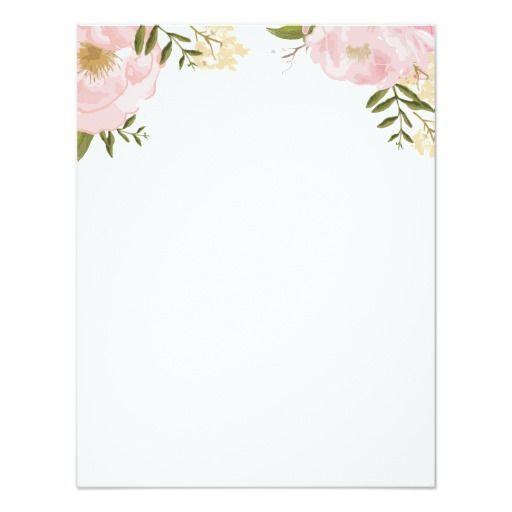 Modern Vintage Pink Floral Wedding Information Enclosure Card Zazzle Com In 2020 Pink Flowers Background Floral Wedding Wedding Borders