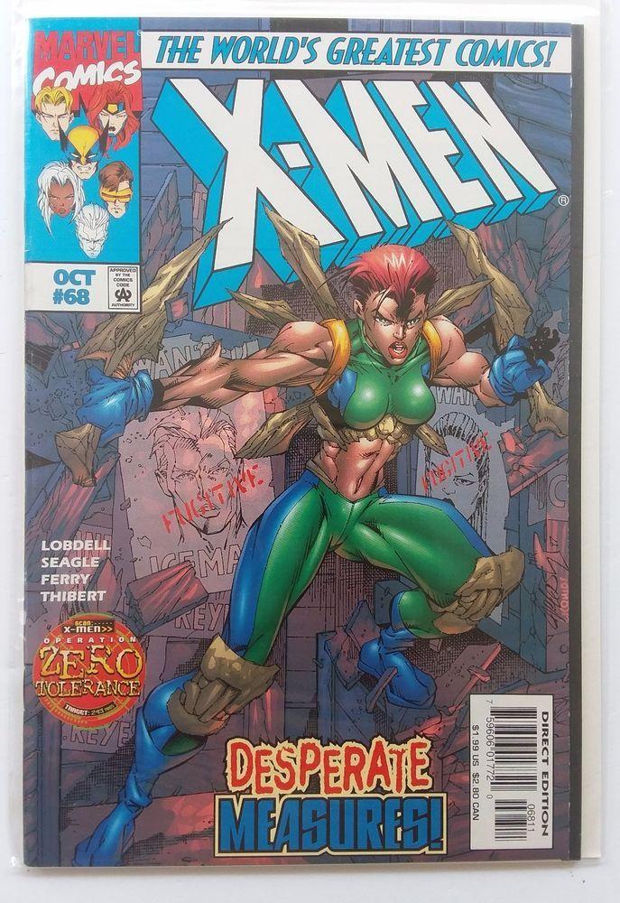 X Men 68 Zero Tolerance Marvel Comics 1997 Vol 1 Series Collectibles Comics Modern Age 1992 Now Ebay X Men Marvel Marvel Comics