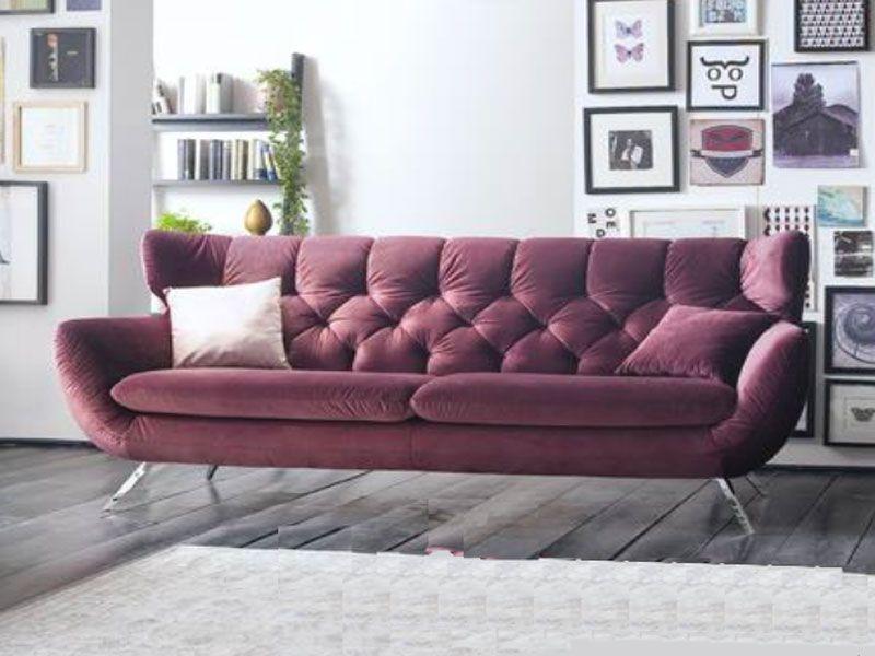 Candy Einzelsofa Sixty Fur Wohnzimmer Im Bezug Stoff Oder Echtleder Wahlbar Sofa Purple Sofa Chesterfield Sofa