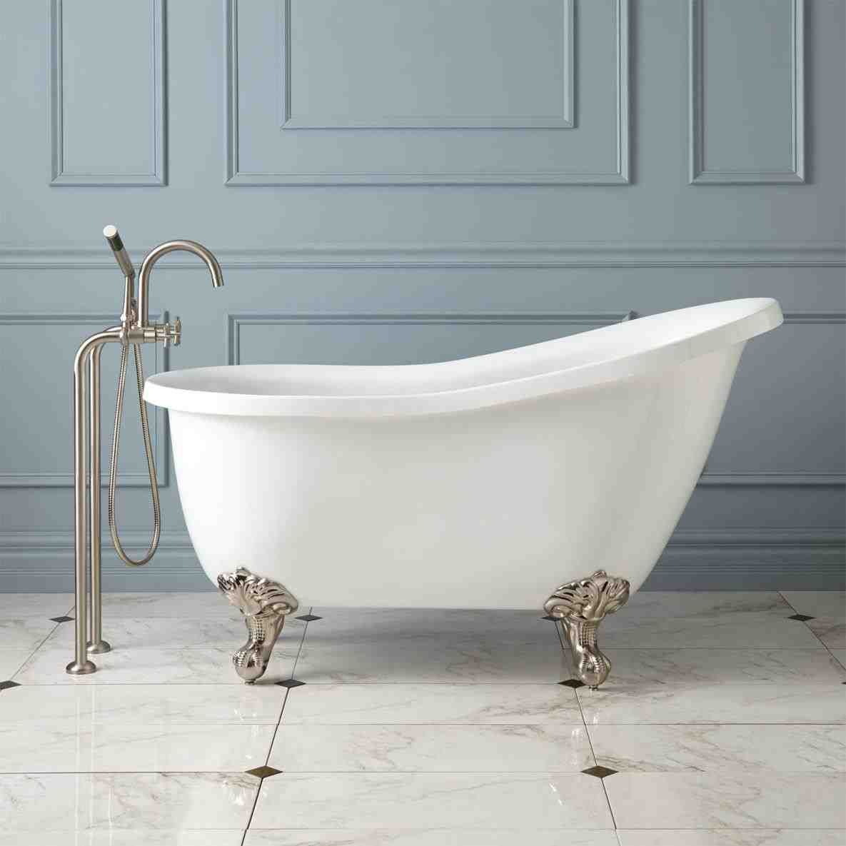 Signature Hardware 931045 72 Bathtubs For Sale Small Bathroom