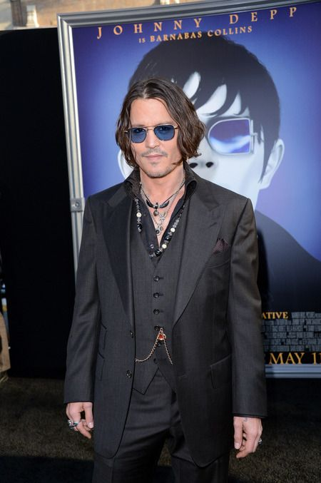 Johnny Depp Clothing Premiere At Signature On Dark His Style Shadows hsdQtrC