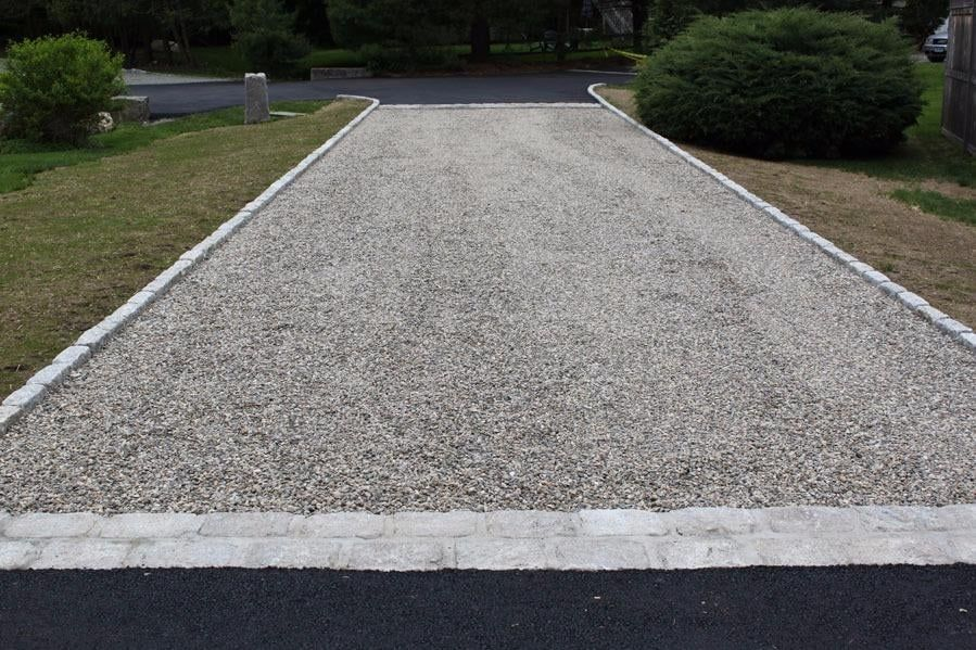 Photo of luciano paving westport ct united states for Driveway apron ideas