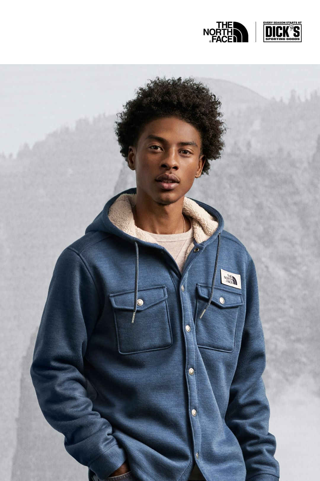 Shop The North Face® Sherpa Patrol SnapUp Hoodie North