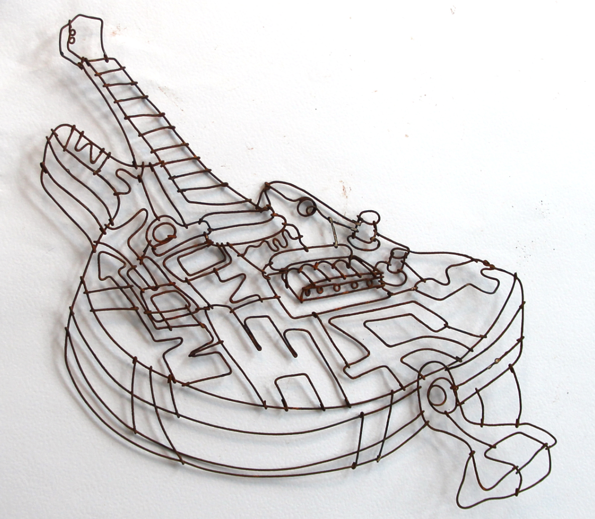 wire guitar, Joel Armstrong, JoelArmstrongFineArt.com | wire ...