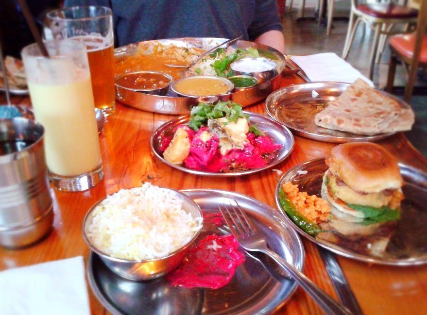 Bollywood theater indian street food in portland oregon
