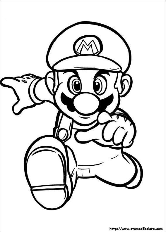Super Mario Disegni Da Colorare Giochi.Disegni Super Mario Bros Disegni Da Colorare Libri Da Colorare