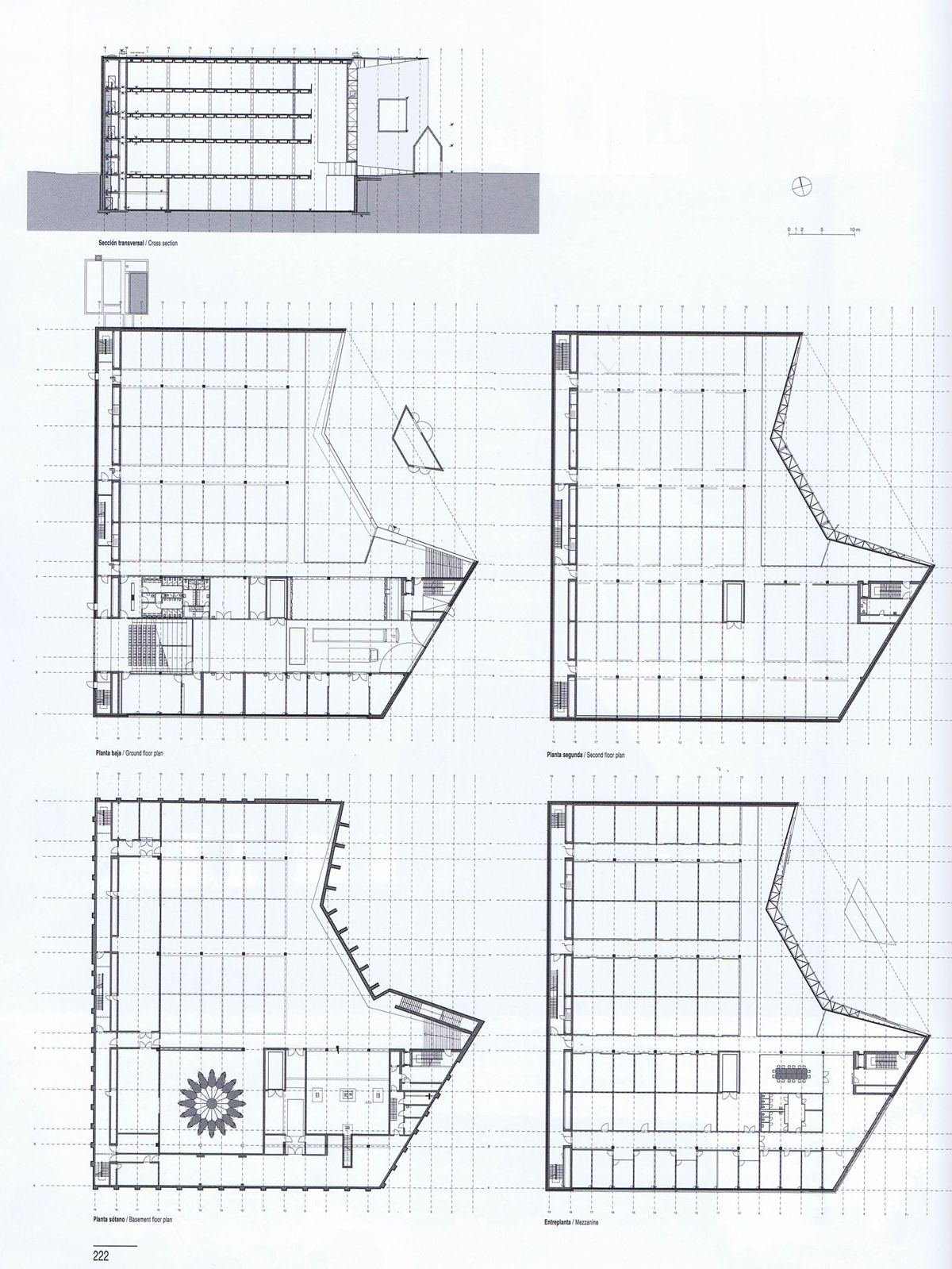 Schaulager Basel Herzog Amp De Meuron Plan
