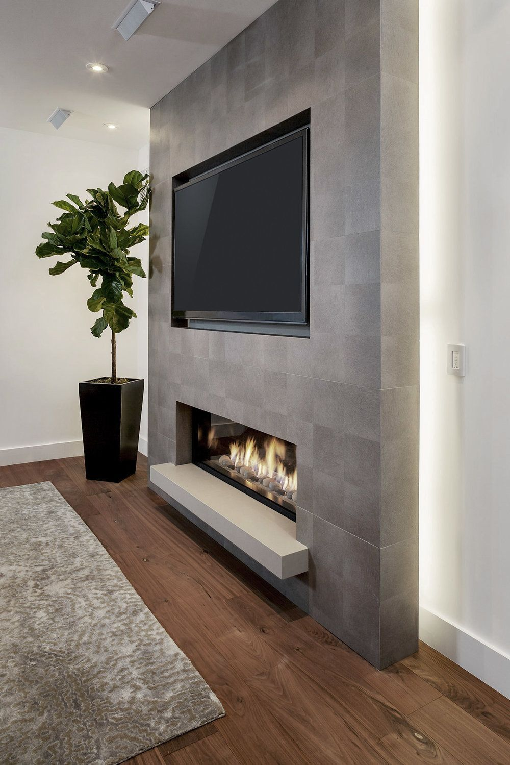 Touchstone The Sideline 50 Recessed Electric Fireplace 80004 Salvabrani Salvabrani Basement Fireplace Recessed Electric Fireplace Fireplace Design