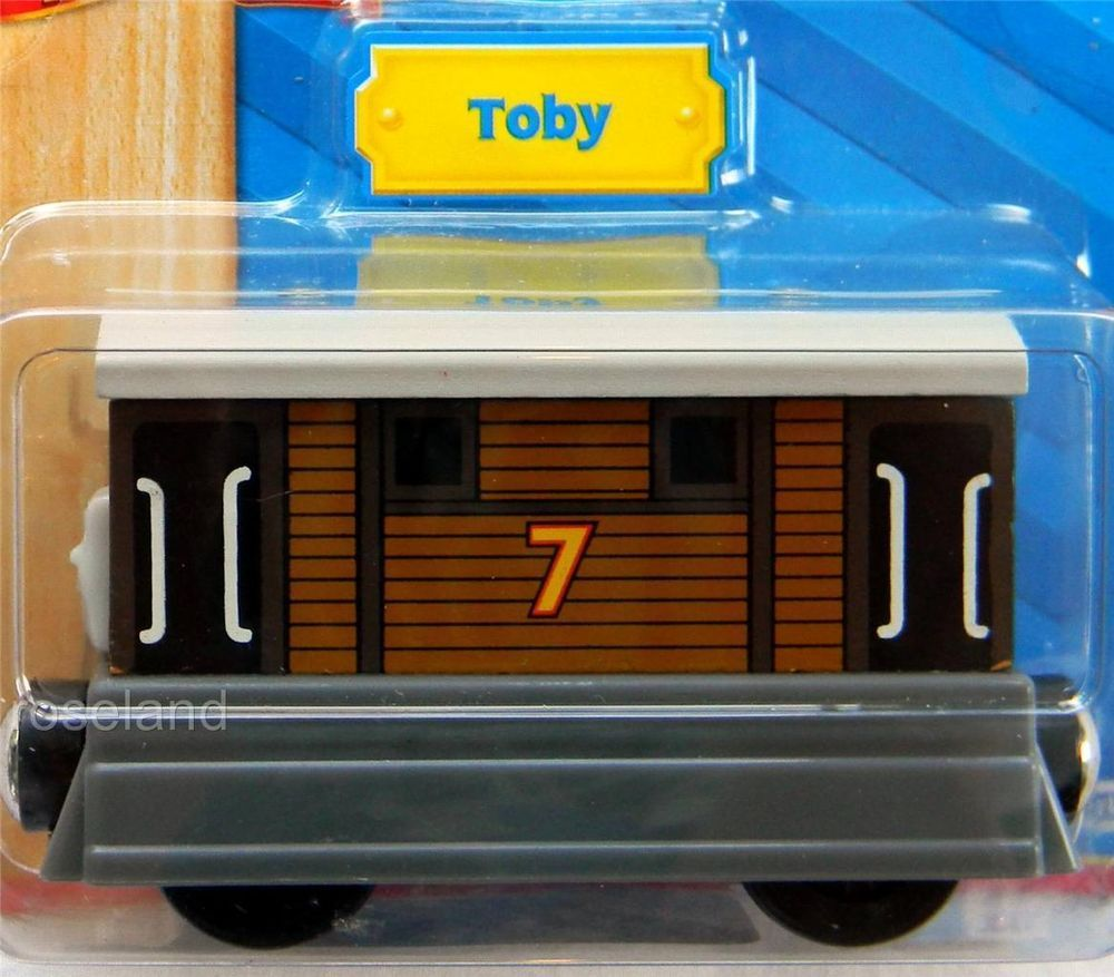 Thomas The Train Wooden Railway Toby The Tram Engine Lc99007