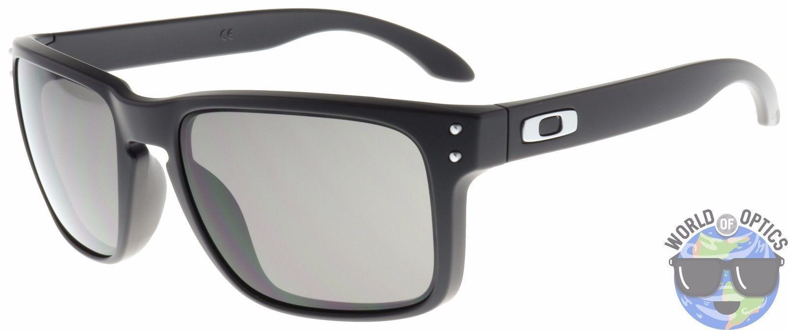 Oakley Holbrook Matte Black Lens Warm Grey Schwarz Yl4CCbmGR5