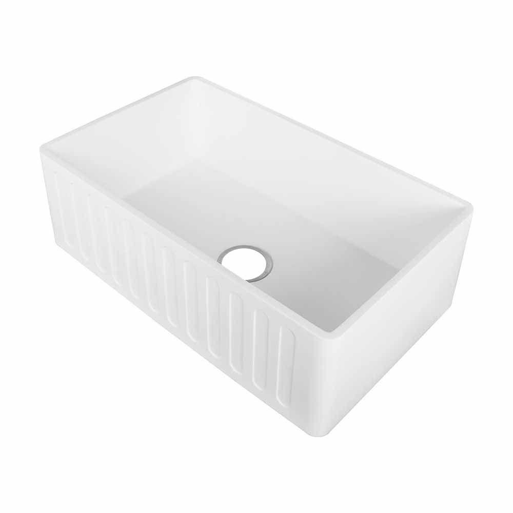 30 white porcelain farmhouse apron sink apron sink
