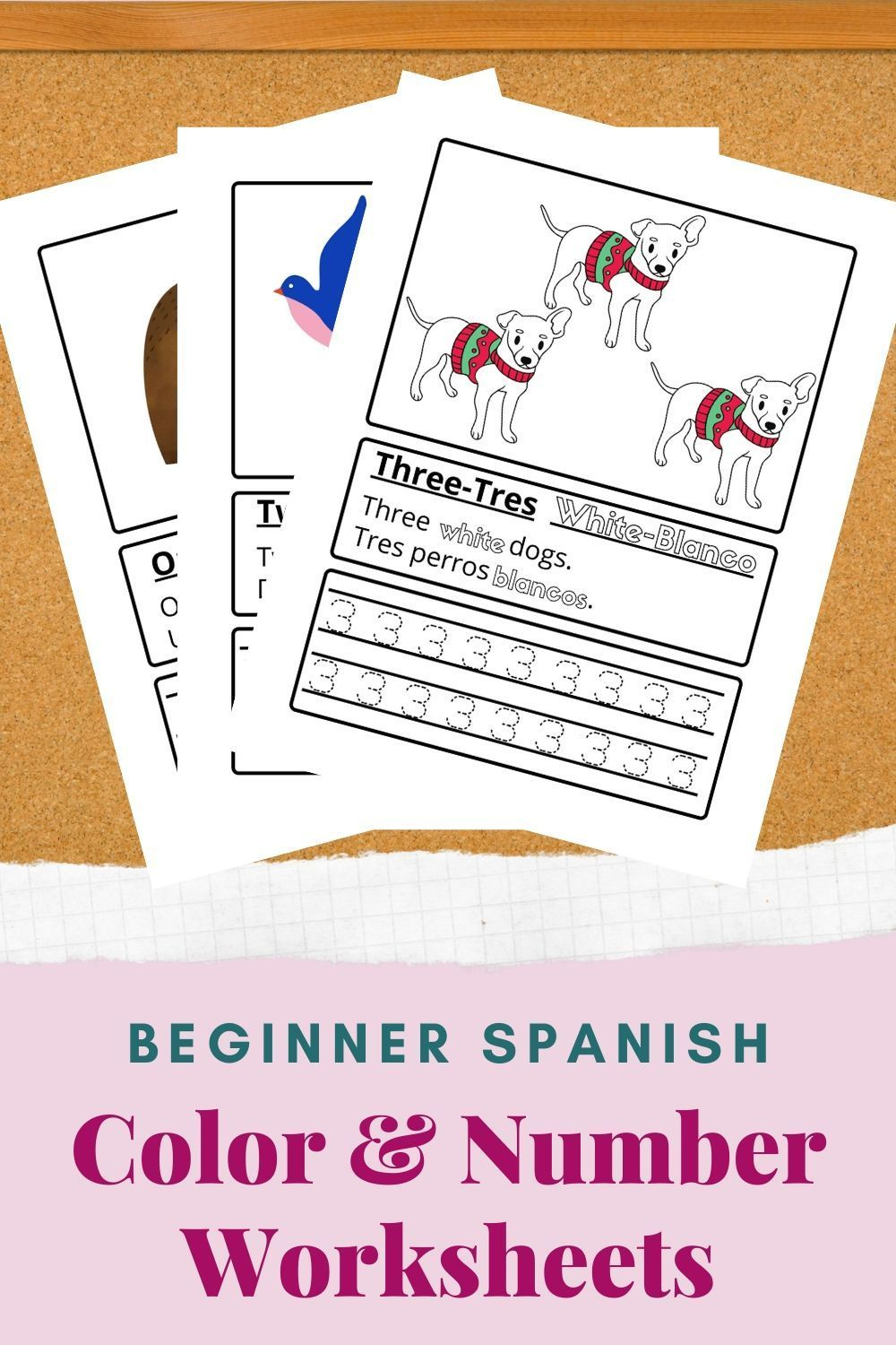 Printable Spanish Colors Numbers Worksheets Learning Pages Etsy Parenting Printables Preschool Tracing Parenting Organization [ 1500 x 1000 Pixel ]