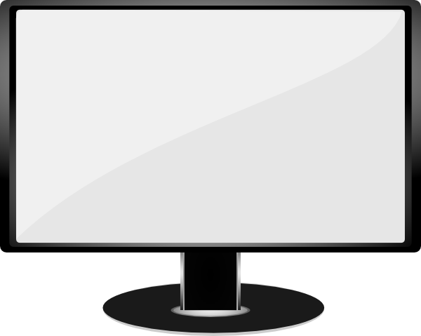 Image Result For Screen Clipart Lcd Television Tv Monitor Lcd