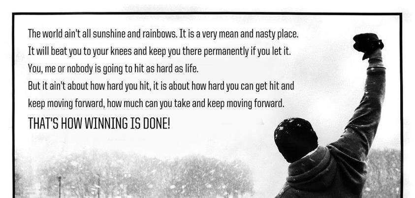 Rocky Quotes Google Search Inspirational Speeches Rocky