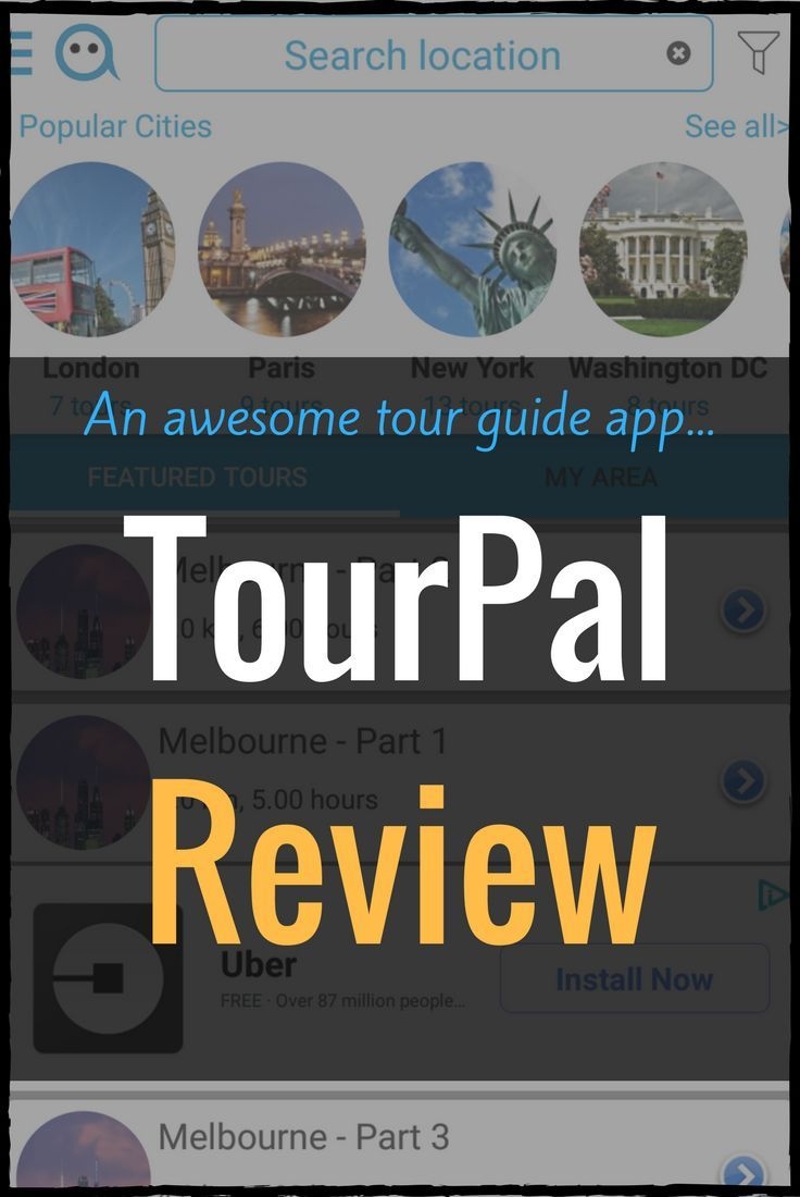 A Tour Guide App You Ll Want To Download Tourpal Review Travel Guide App Family Travel Blog Tour Guide