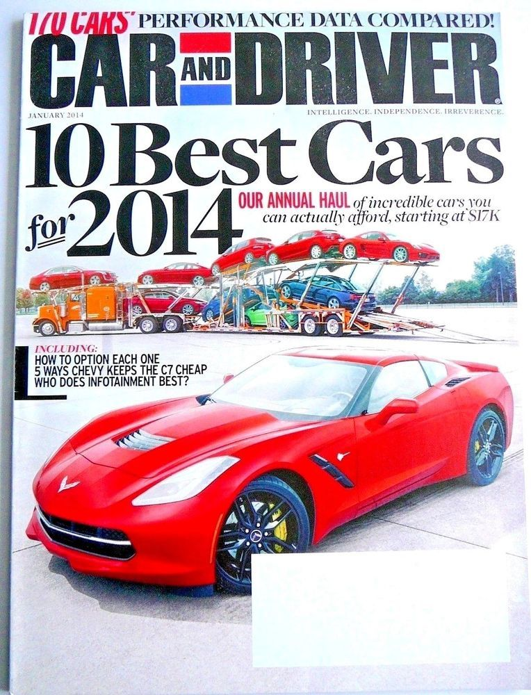 Car And Driver Reviews 2014 10 Best Cars Affordable Options 170